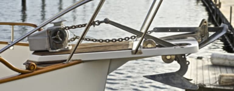 windlass anchor installation