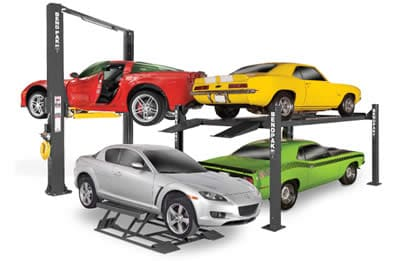reviews of vehicle lifts for a home garage